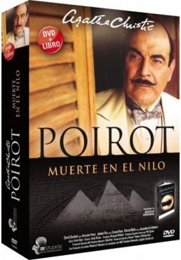 Poirot, Muerte en el Nilo + Libro - Agatha Christie