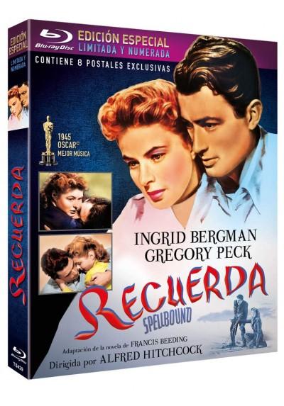 Recuerda - Edición Especial Limitada y Numerada y 8 postales (Blu-ray) (Spellbound)