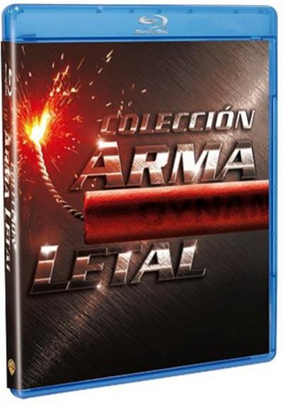 Pack Arma letal: Cuatrilogía (Blu-ray)