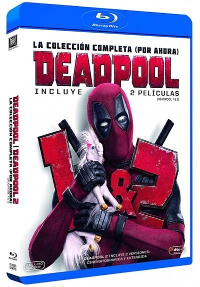 Pack Deadpool y Deadpool 2 (Blu-Ray)