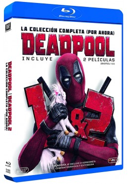 Pack Deadpool y Deadpool 2 (Blu-Ray)