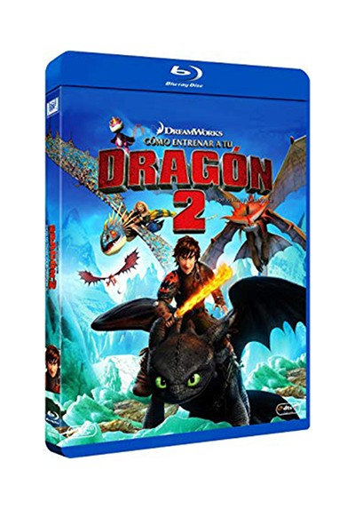 Como Entrenar A Tu Dragon 2 (How To Train Your Dragon II) (Blu-ray)