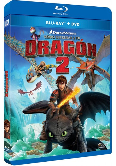 Como Entrenar A Tu Dragon 2 (How To Train Your Dragon II) (Blu-ray + DVD)