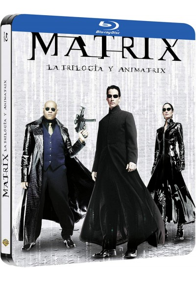 Matrix - Trilogía + Animatrix (Blu-ray)