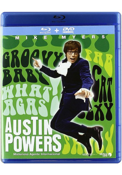Austin Powers: Misterioso agente internacional (Blu-Ray+ DVD) (Austin Powers: International Man Of Mystery)