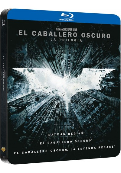 Pack El Caballero Oscuro : La Trilogia (Blu-Ray) (Ed. Metálica) (The Dark Knight: Trilogy)