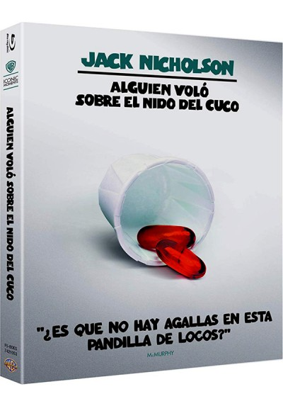 Alguien Volo Sobre El Nido Del Cuco (Blu-ray) (Ed Iconic) (One Flew Over The Cuckoo´s Nest)