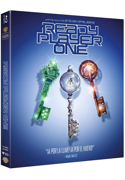Ready Player One (Blu-Ray) (Ed Iconic)
