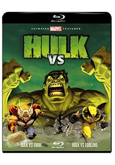 Hulk Vs Thor y Lobezno (Blu-ray)