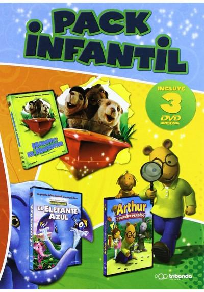 Pack Infantil: Arthur Y El Perrito Perdido - El Elefante Azul -  Hammy: El Hamster