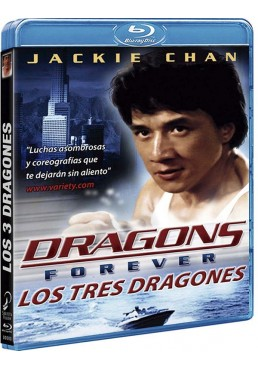 Los Tres Dragones (Blu-ray) (Dragons Forever) (Fei Lung Mang Jeung)