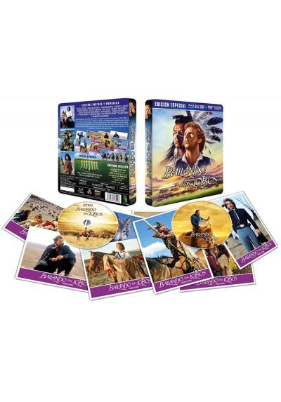 Bailando con Lobos (BD + DVD) - Edición Metálica Limitada + 8 Postales (Dance With Wolves)