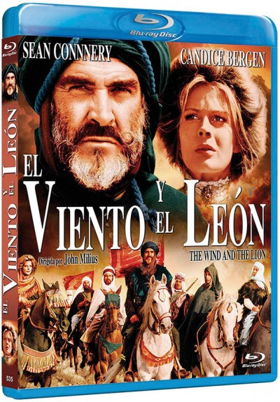 El viento y el león (Blu-ray) (The Wind and the Lion)
