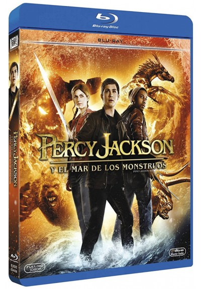 Percy Jackson Y El Mar De Los Monstruos (Blu-Ray) (Percy Jackson: Sea Of Monsters)