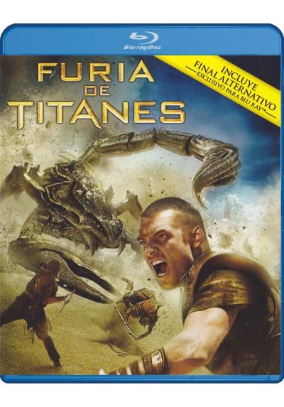Furia De Titanes (2010) (Blu-Ray) (Clash Of The Titans)