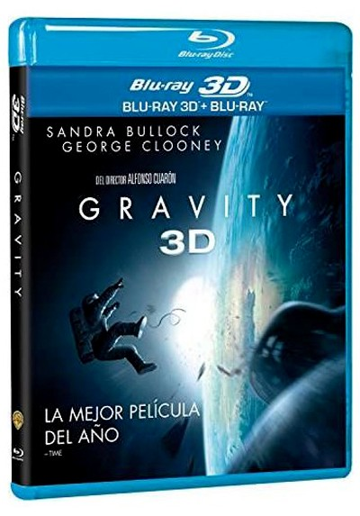 Gravity (Blu-ray 3D + Blu-ray + Copia Digital)