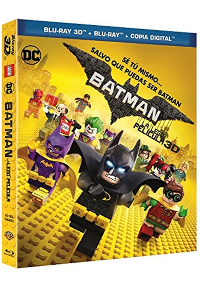 Batman: La Lego Película  - Ed Iconic (Blu-Ray - 3D - Copia Digital) (The Lego Batman Movie)