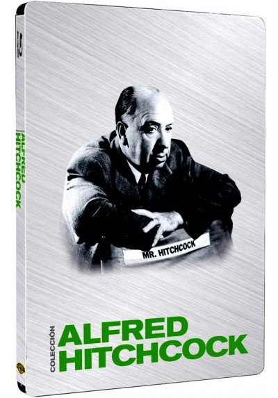 Pack Alfred Hitchcock (Ed. Metálica) (Blu-ray)