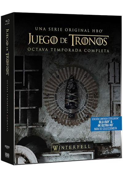 Juego de Tronos - Temporada 8 - Steelbook (UHD 4K + Blu-Ray)