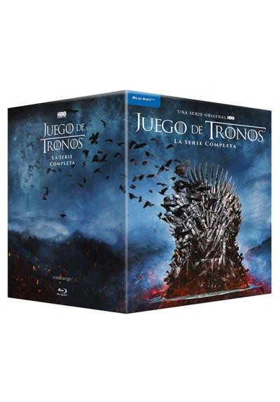 Juego De Tronos - Colección Completa - Temporada 1- 8 (Blu-Ray)