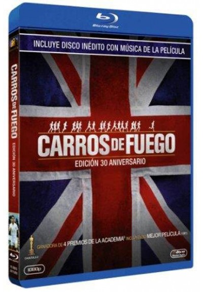 Carros De Fuego (Blu-Ray + CD) (Chariots Of Fire)