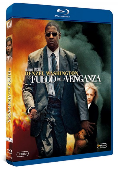 El Fuego de la venganza (Blu-ray) (Man On Fire)