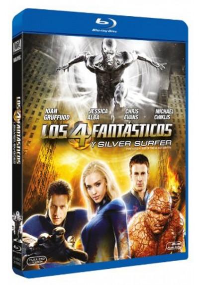 Los 4 fantásticos y Silver Surfer (Blu-ray) (Fantastic Four: Rise of the Silver)