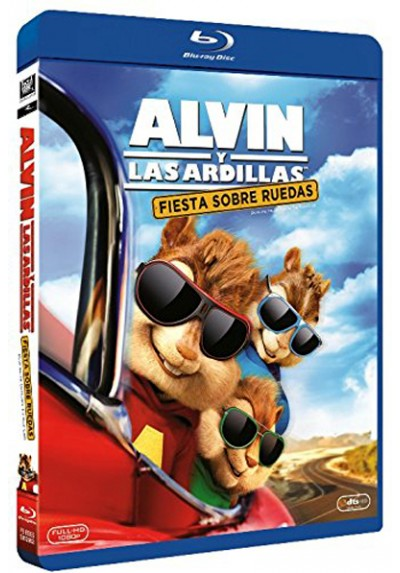 Alvin Y Las Ardillas - Fiesta Sobre Ruedas (Blu-ray) (Alvin And The Chipmunks: The Road Chip)