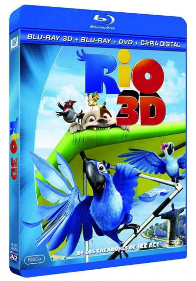 Rio (Blu-Ray 3D + Blu-ray + Copia Digital)