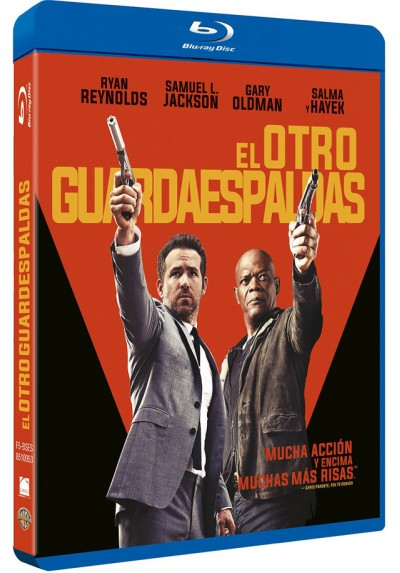 El otro guardaespaldas (Blu-ray) (The Hitman's Bodyguard)