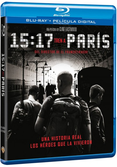 15:17 Tren A Paris (Blu-ray) (The 15:17 To Paris)