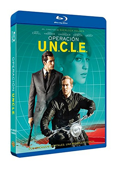 Operación U.N.C.L.E. (Blu-ray) (The Man From U.N.C.L.E.)
