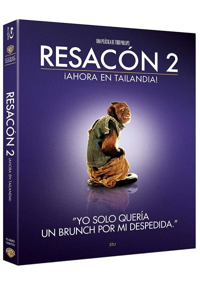 Resacón 2: Ahora En Tailandia! (Blu-ray) (Ed. Iconic) (The Hangover Part II)