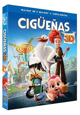 Cigüeñas (Blu-Ray 3D + Blu-ray + Copia Digital) (Storks)