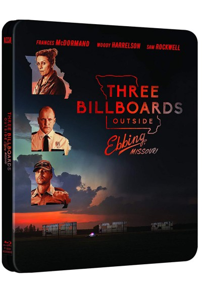 Tres anuncios en las afueras (Blu-ray) (Three Billboards Outside Ebbing, Missouri)