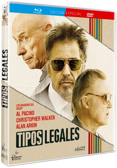 Tipos legales (Blu-ray + Dvd) (Stand Up Guys)