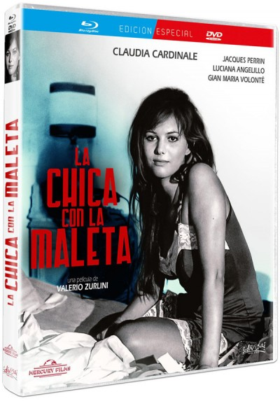 La chica con la maleta (Blu-ray + Dvd) (La ragazza con la valigia) (Girl with a Suitcase)