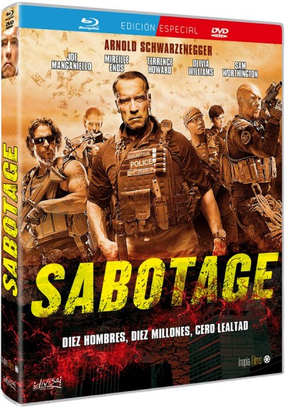Sabotage (Blu-ray + Dvd)