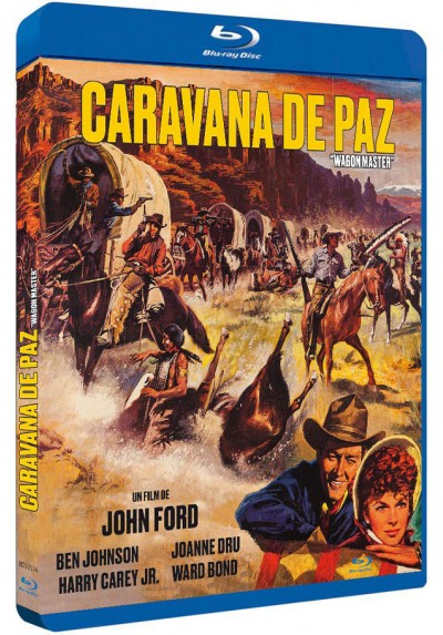 Caravana de paz (Blu-ray) (Wagon Master)