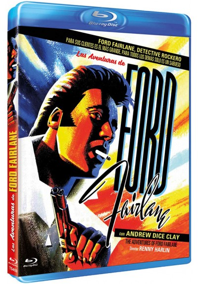 Las aventuras de Ford Fairlane (Blu-ray) (The Adventures of Ford Fairlane)