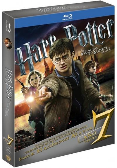 Harry Potter Y Las Reliquias De La Muerte - 2ª Parte (Blu-Ray) (Ed. Libro) (Harry Potter And The Deathly Hallows: Part 2)