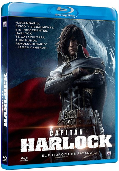 Capitán Harlock (Blu-ray) (Kyaputen Hârokku)