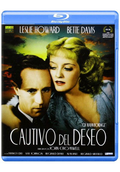 Cautivo del deseo (Blu-ray) (Of Human Bondage)