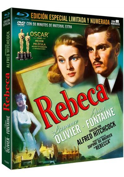Rebeca (Blu-ray + DVD + 8 Postales) (Rebecca)