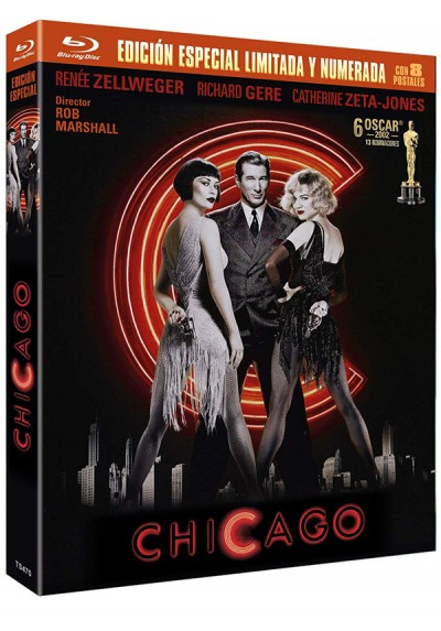 Chicago (Blu-ray + 8 Postales)