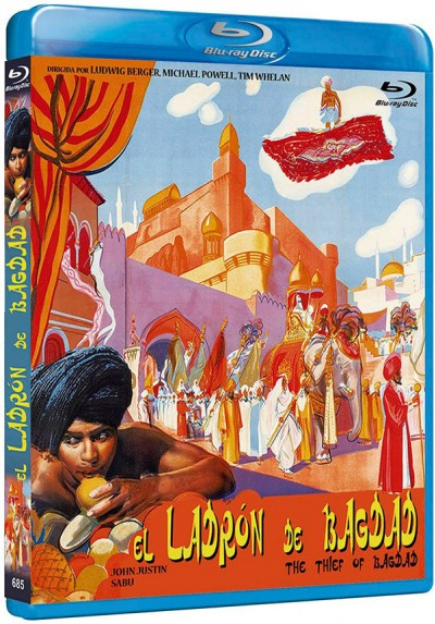 El ladrón de Bagdad (Blu-ray) (Bdr) (The Thief of Bagdad)