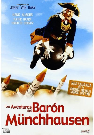 Las aventuras del Barón de Munchausen (Les aventures de baron de Munchhausen)