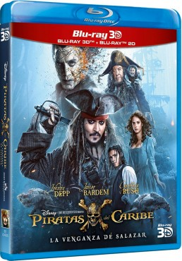 Piratas del Caribe: La venganza de Salazar (Blu-ray + Blu-ray 3D) (Pirates of the Caribbean: Dead Men Tell No Tales)