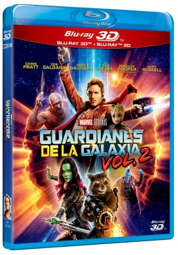 Guardianes de la galaxia Vol. 2 (Blu-ray + Blu-ray 3D) (Guardians of the Galaxy Vol. 2)
