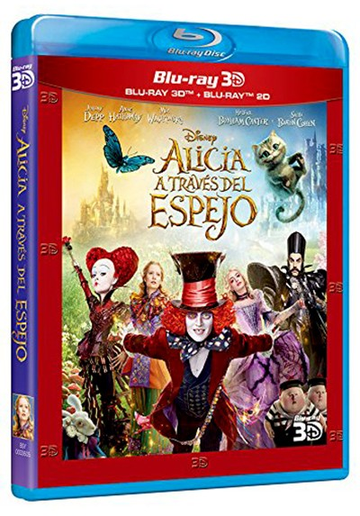 Alicia a través del espejo (Blu-ray + Blu-ray 3D) (Alice Through the Looking Glass)